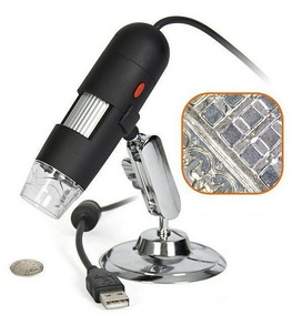 Microscópio Digital Usb Zoom 800x 2.0mp Hd A Profissional