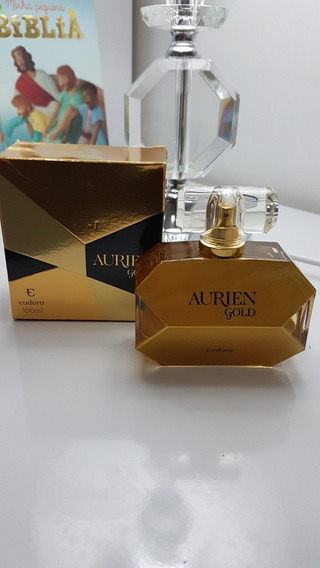 Perfume Feminino Eudora Aurien Gold Pouco Uso.