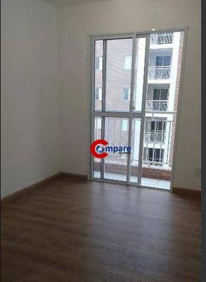 Apartamento Com 2 Dormitórios Para Alugar, 58 M² Por R$ 1.245/mês - Picanco - Guarulhos/sp - Ap7494