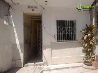 Kitnet Residencial Para Locação, Bonfim, Salvador. - Kn0002