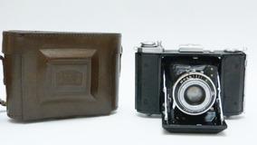 Camera Ikonta Zeiss Ikon 6x6 Bem Conservada Estojo Original