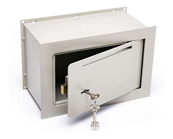 Caja Fuerte 20x30x15 De Embutir Buzon Pared Amurar E3 C/b