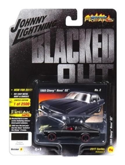 Johnny Lihgtning 1968 Chevy Nova Blacked Out A Solo Envios