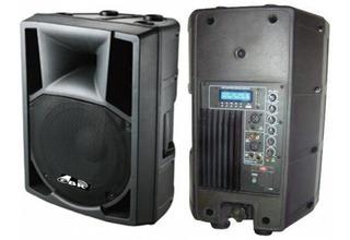 Gbr Bafle Activo Pl-1030 Power Mp3 Bluetooth Control Remoto