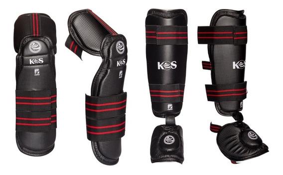 Korea Sport Taekwondo Paquete Codera Y Espinillera C/empeine