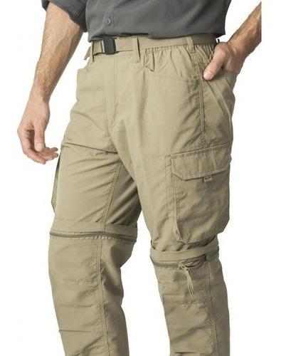 Pantalón Hombre Outdoor Desmontable 2 En 1/ Uv50 /animanchas