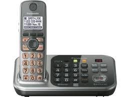 Teléfono Inalámbrico Panasonic Id Hablado Doble Teclado Y Co