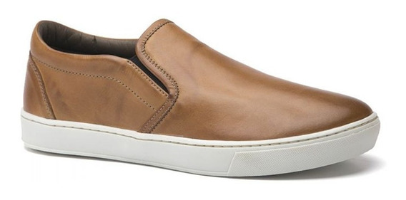 Tênis Iate Masculino Keep Shoes Cor Caramelo