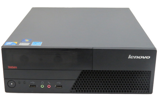 Lenovo Cpu Core 2 Duo 2gb Hd250 Desktop Win.7 C/ Wi-fi