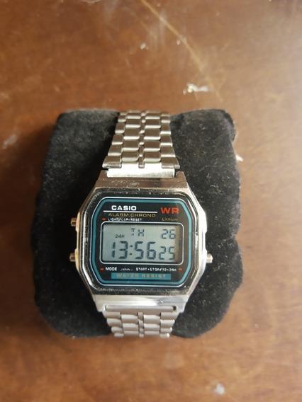 Relógio Cásio A159 Prata Antigo 100% Original Japones