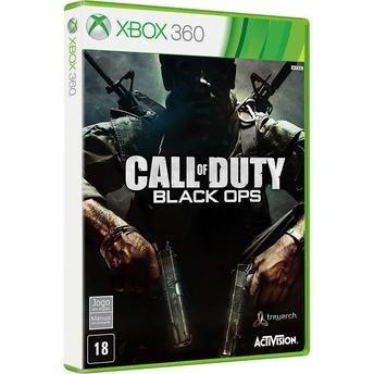 Call Of Duty Black Ops - Semi Novo- Xbox 360