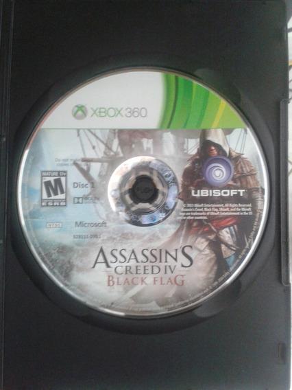 Jogo Assassins Creed Iv Black Flag - Xbox 360 (original)