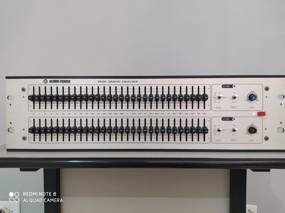 Equalizador Klark Teknik Dn360