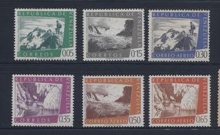 Serie Estampillas De Venezuela 1960 Geografía Del País