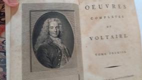 Livro Obras De Voltaire Edição 1879 70 Volumes Restaurados