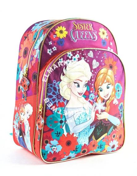 Mochila Frozen 16 Espalda Original 89322 Violeta