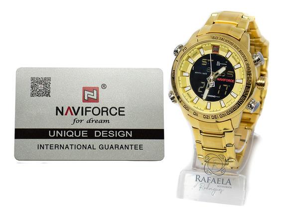 Relógio Masculino Naviforce Original Analógico E Digital