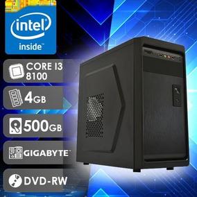 Pc I3 (core I3 8100 / Hd 500gb / 4gb Ram / Dvd)