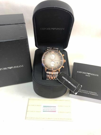 Relógio Emporio Armani Ar1721 Com Caixa E Garantia