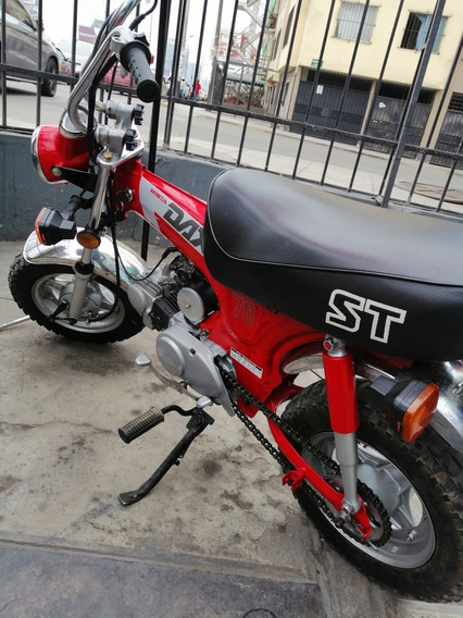 Honda Dax St70 Transferible. Restaurada. Moto