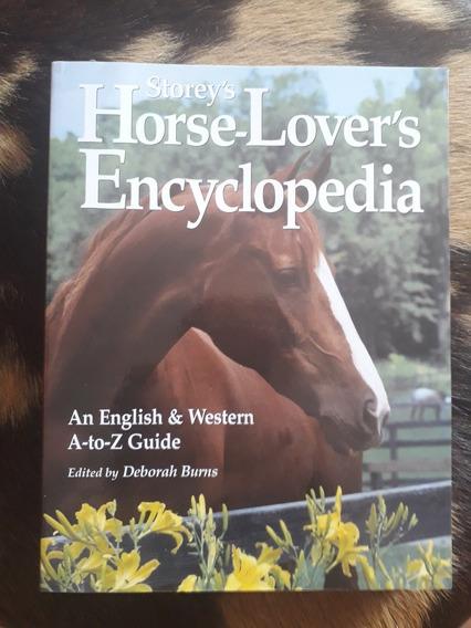 Livro Horse Lovers Encyclopedia - Em Ingles Enciclopédia