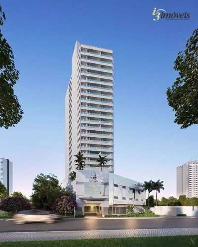 Edifício La Villa Santangelo - Apartamento Com 2 Suítes E 1 Vagas De Garagem A Venda Com Completa Área De Lazer No Centro De Itajaí, Sc - Ap1851