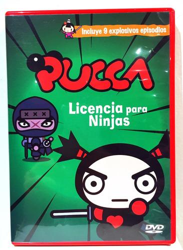 Pucca Licencia Para Ninja Dvd Nuevo Original Cerrado
