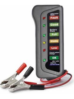 Tester De Batería Y Alternador Probador De Bateria