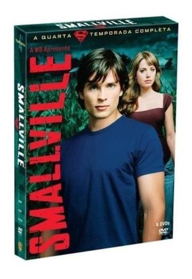 Smallville 6 Dvd 4ª Temporada Novo Lacrado Frete Grátis