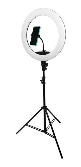 Ring Light 65w 448 Leds 48cm Tripe 2m + Controle De Luz Pro