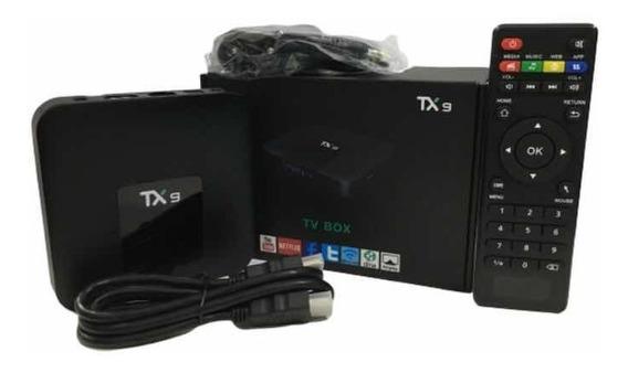Aparelho Android Smart Tv Tx9 Original 2gb/16gb C/bluetooth