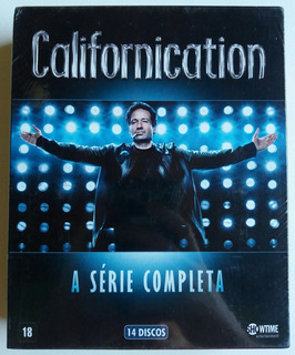 Dvd Californication - A Série Completa - Box C/14 Discos