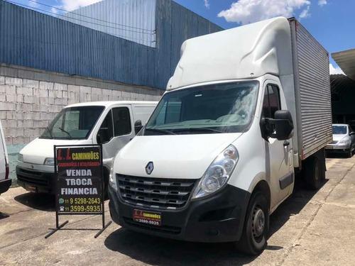 Renault Master Baú Porta Lateral Financia Sem Entrada