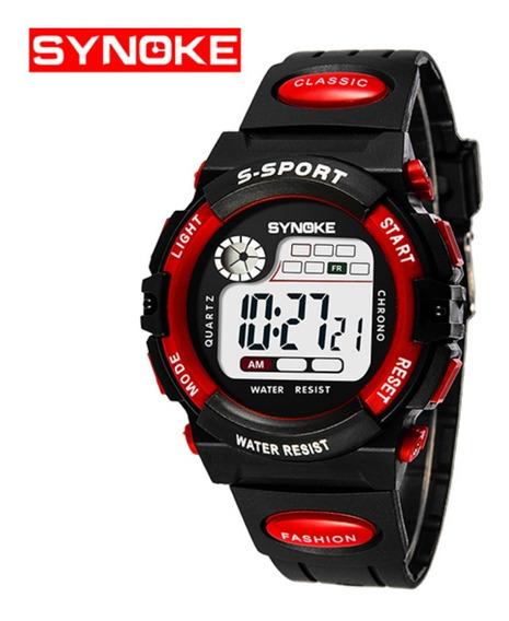 Relógio Masculino Original Infantil Esportivo Barato Alarme