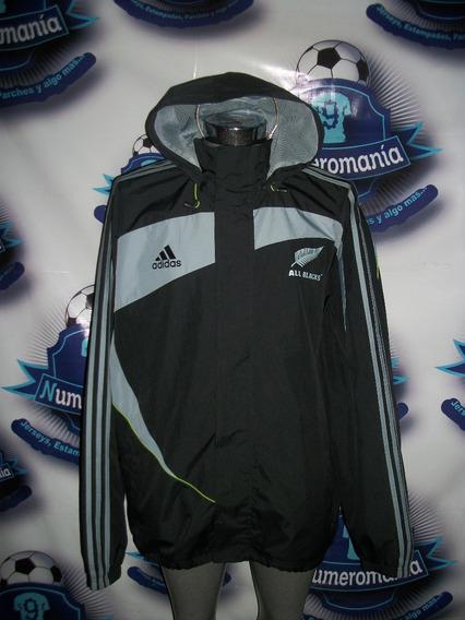 Chamarra Original adidas Rugby All Blacks De Nueva Zelanda