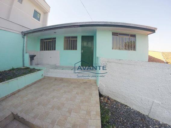 Casa Com 1 Dormitório Para Alugar, 40 M² Por R$ 750,00/mês - Uberaba - Curitiba/pr - Ca0339