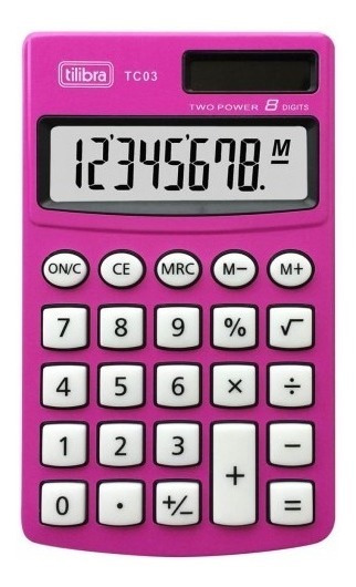 Calculadora De Mesa Comercial Escritório Display 12 Digitos