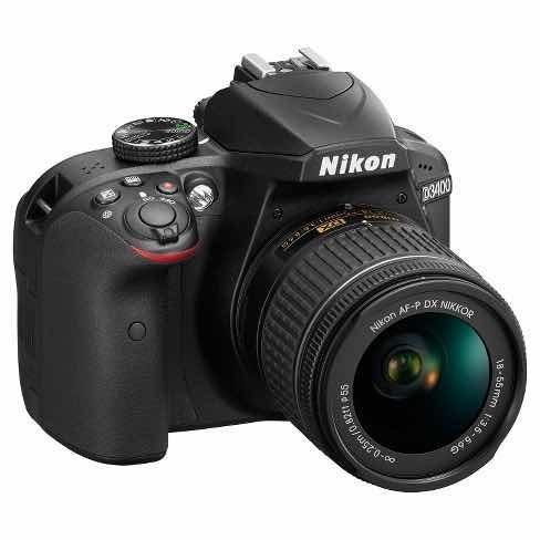 Cámara Réflex Nikon D3400 Kit Con Lente 18-55mm Vr Af-p