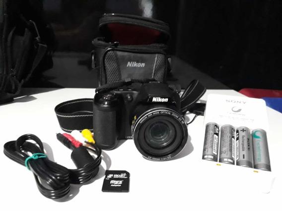 Câmera Digital Nikon Coolpix L810 Semi Profissional