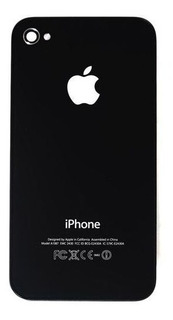 iPhone 4 O 4s Tapa Trasera Blanco Negro 100% Nueva