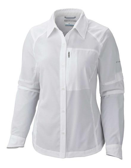 Camisa Columbia Silver Ridge Mujer