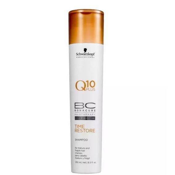 Schwarzkopf - Bc Bonacure - Shampoo Q10 Plus Time Restore