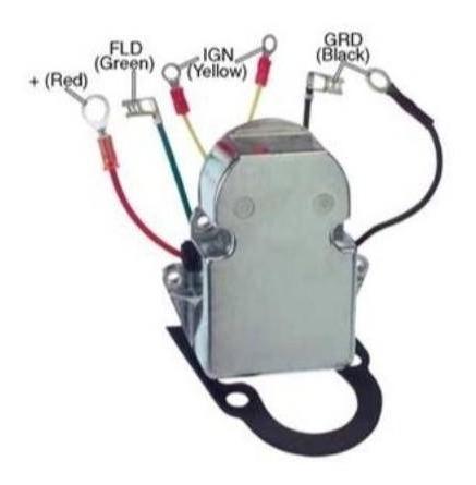 862539 Regulador De Voltagem D41/ Tmd/ Md Volvo Penta