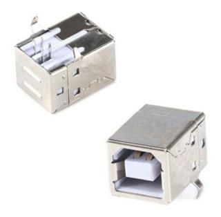 Conector Usb Hembra Tipo B Para Montaje En Pcb