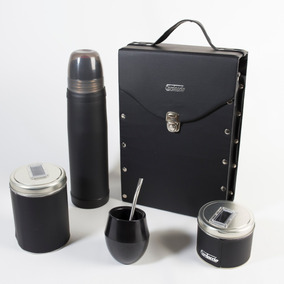 Set De Mate Completo Cardaccio All Black