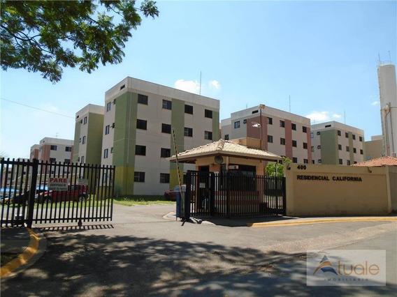 Apartamento Com 2 Dormitórios À Venda Ou Locação, 47 M² - Chácara Bela Vista - Sumaré/sp - Ap6917