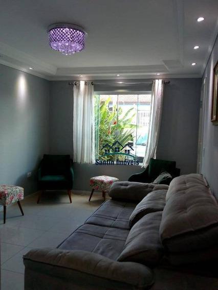 Sobrado De 190 M² Com 04 Dormitórios (sendo 01 Suíte Com Hidromassagem) À Venda, Por R$ 670.000 - Afonso Pena - São José Dos Pinhais/pr - So0330