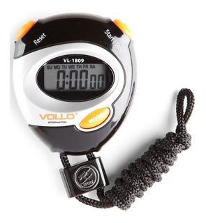 Cronômetro Profissional Relógio Alarme Vollo Vl-1809