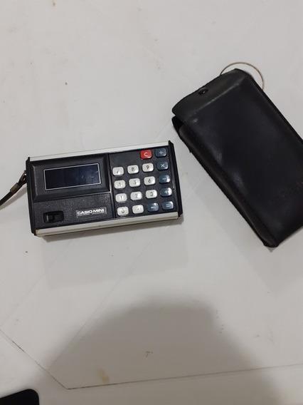 Calculadora Casio Antiga Raridade