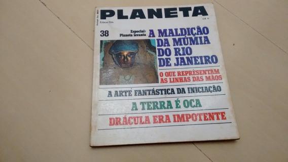 Revista Edição Especial Planeta 38 Múmia Drácula Crença K383